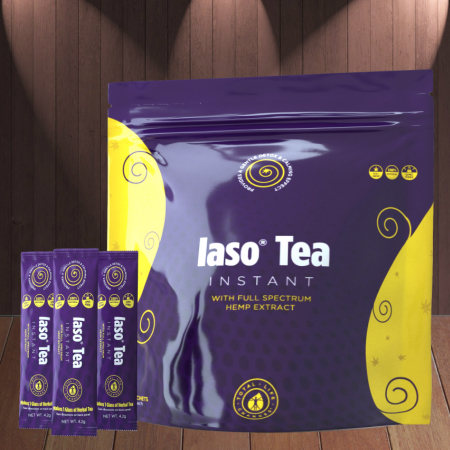 Total Life Changes  Iaso Tea Instant Con Extracto De Cañamo De Espectro Completo